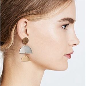NWT Madewell | Sculptural Statement Earrings